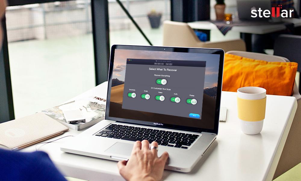 Mac data recovery in remote area