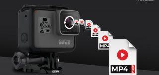 Erstelle MP4 Videos von der GoPro Hero Kamera SD Karte