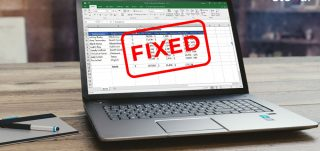 Fix formatting issues in Excel