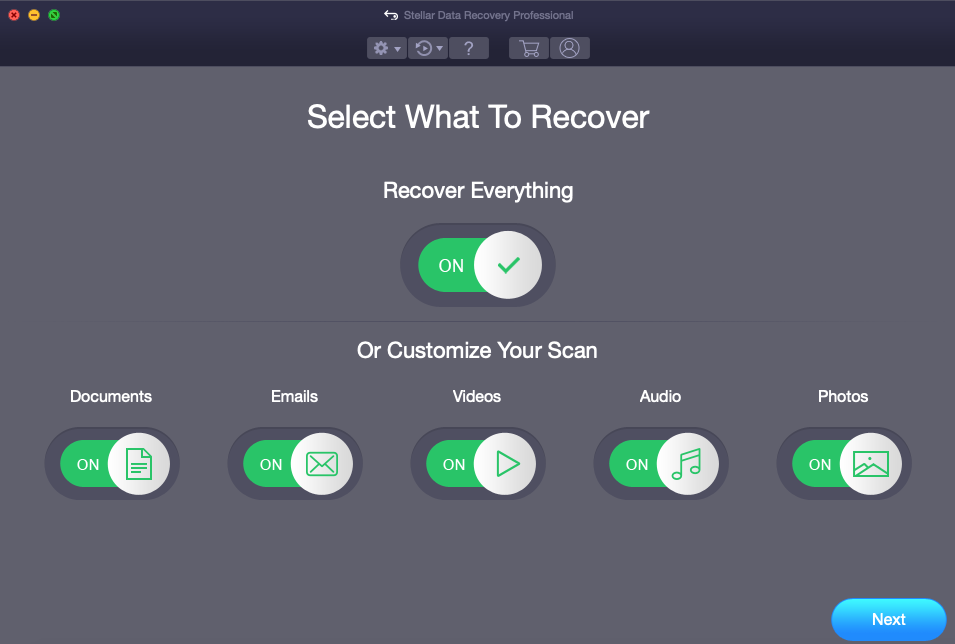 How to Use Stellar Data Recovery Professional for Mac
