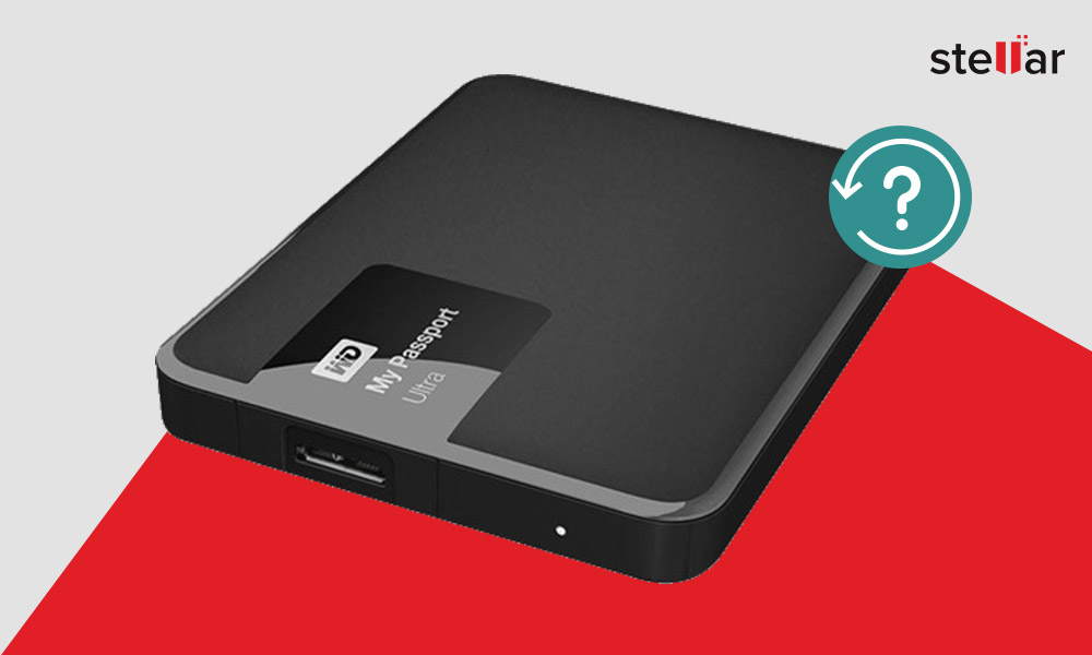 How to Recover Data from WD Passport External Hard Drive?