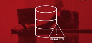 SQL database error 5173