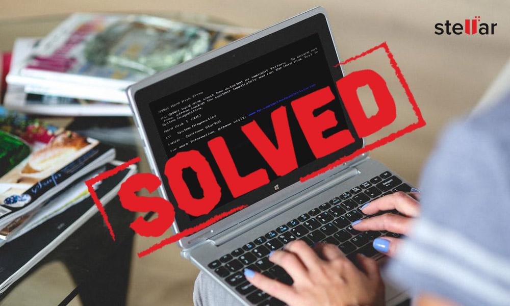 Solved] SMART Hard Disk Error: 301