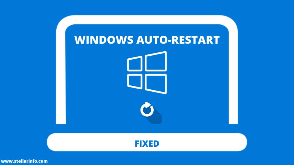 turn off automatic restart schedule windows 10
