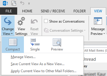 Outlook subfolders missing