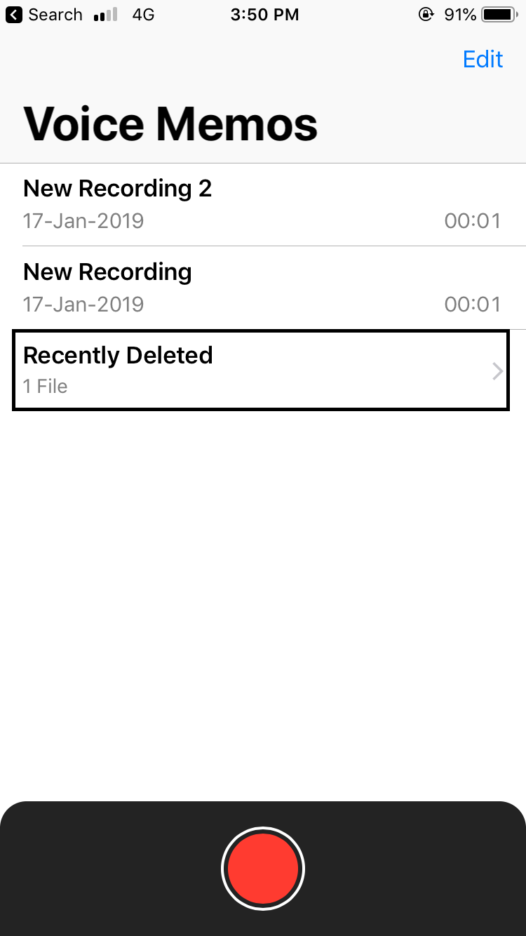 How to Recover Deleted Voice Memos from iPhone