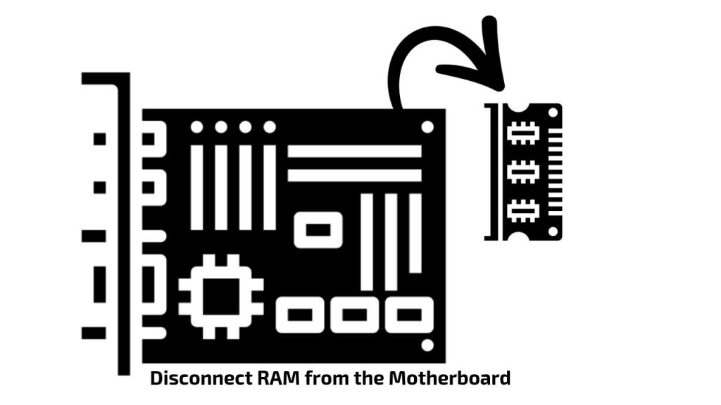 Disconnect the RAM or Swap the RAM to different slot