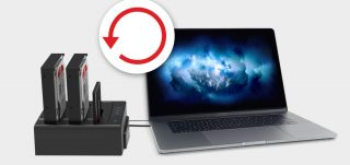 Hard drive recovery - Docking station