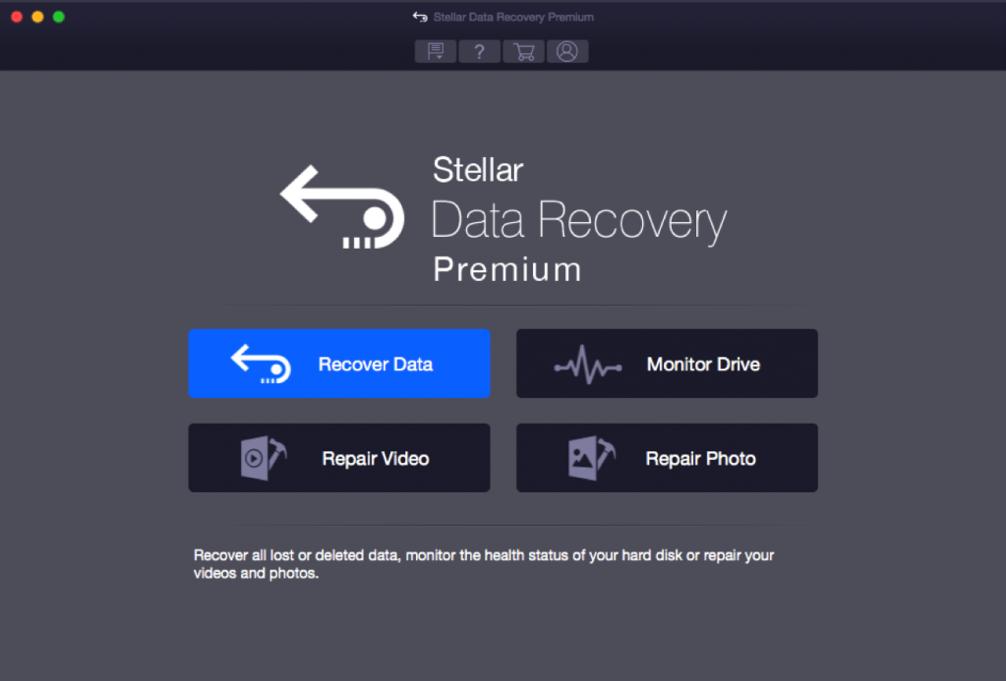 Stellar Data Recovery Premium for Mac