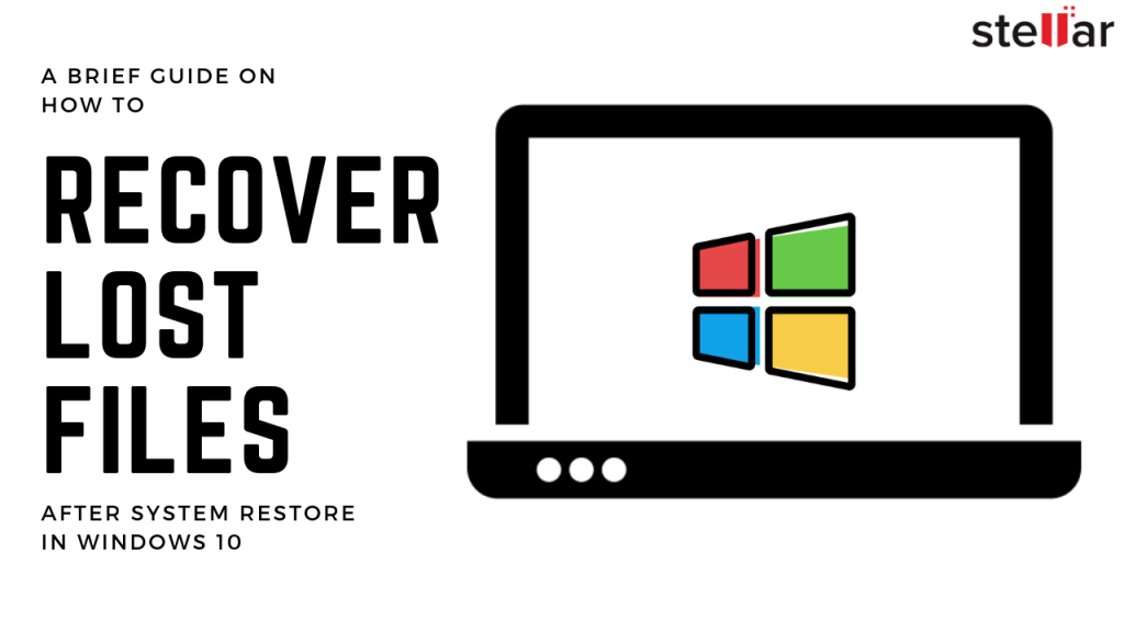 Recover lost files after System Restore in Windows 10