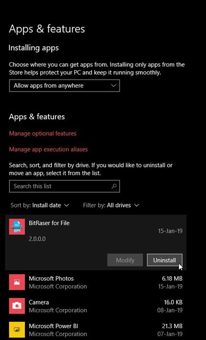 Uninstall third party antivirus or firewall to fix error 0x800705b4