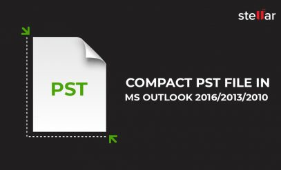 Compact PST file