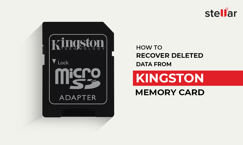 How to recover deleted data from Kingston memory card