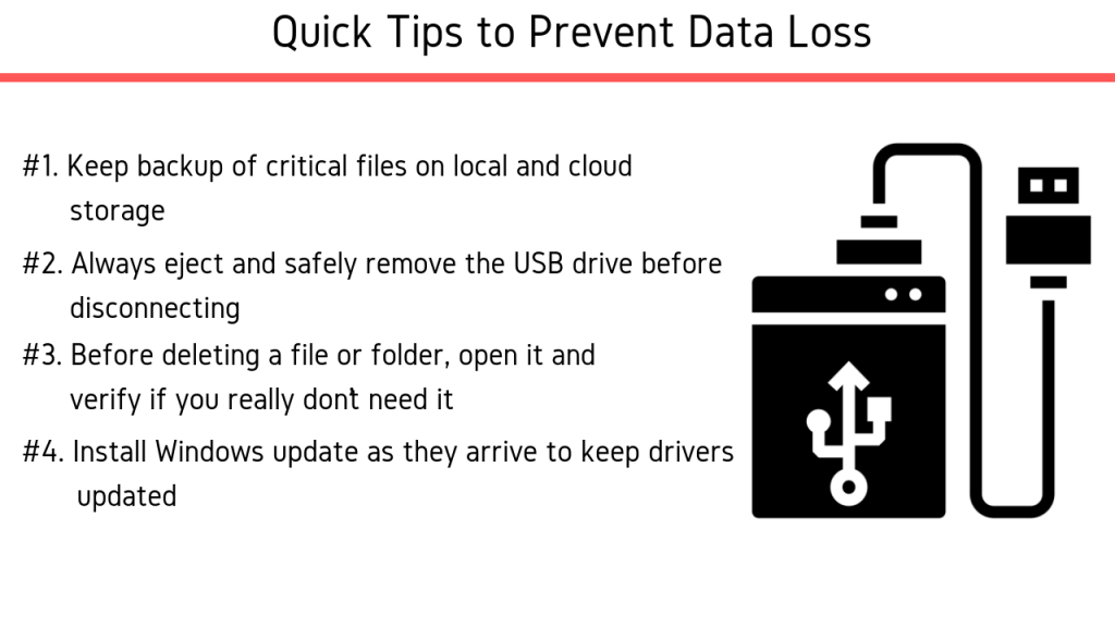 Quick Tips and Best Practices to Prevent data Loss and USB Drive Corruption