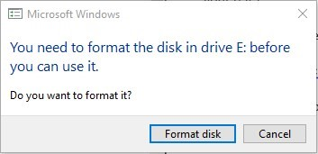 Recover Data From Formatted Disk