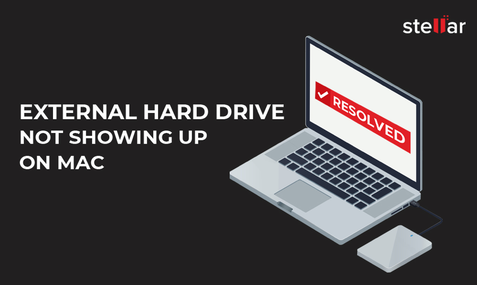 How to Recover External Hard Drive Not Showing Up on Mac
