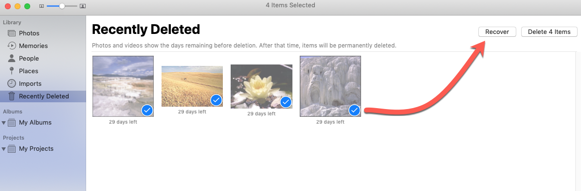 recover deleted photos in mac