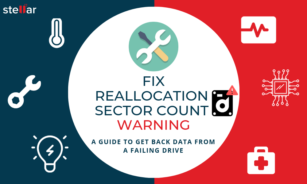 How to Fix Reallocated Sector Count Warning