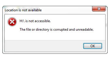File or Directory is Unreadable