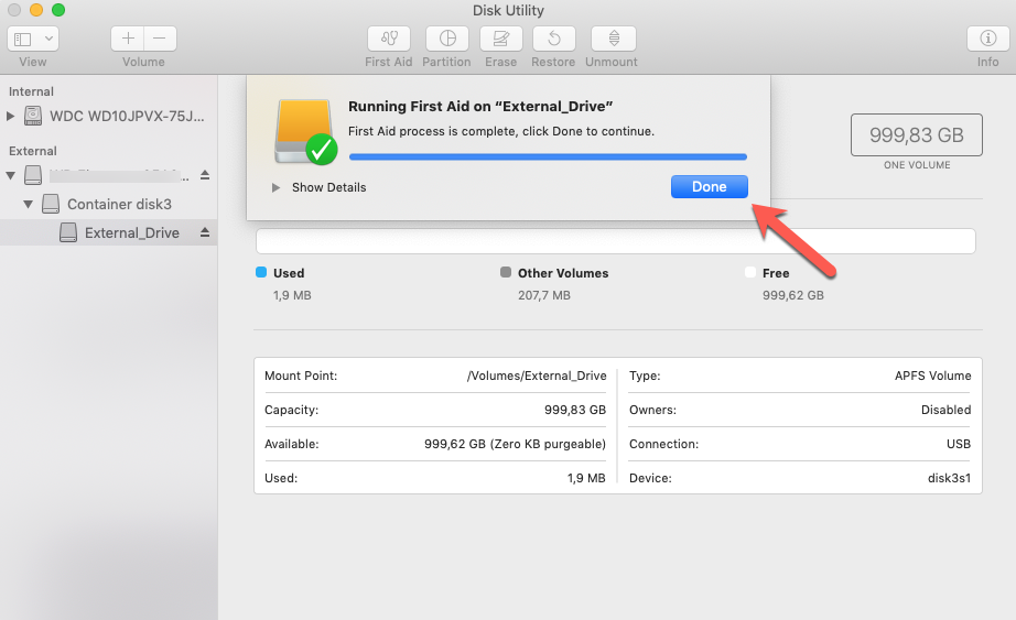 how to recover files deleted from time machine external hard drive