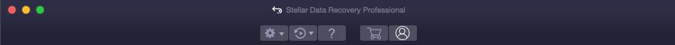 activation du logiciel de récupération de données mac