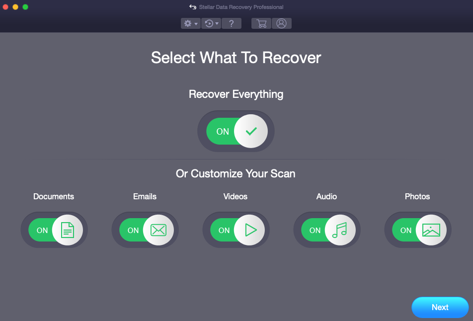 Recover Data from Maxtor Seagate External Hard Drive on Mac