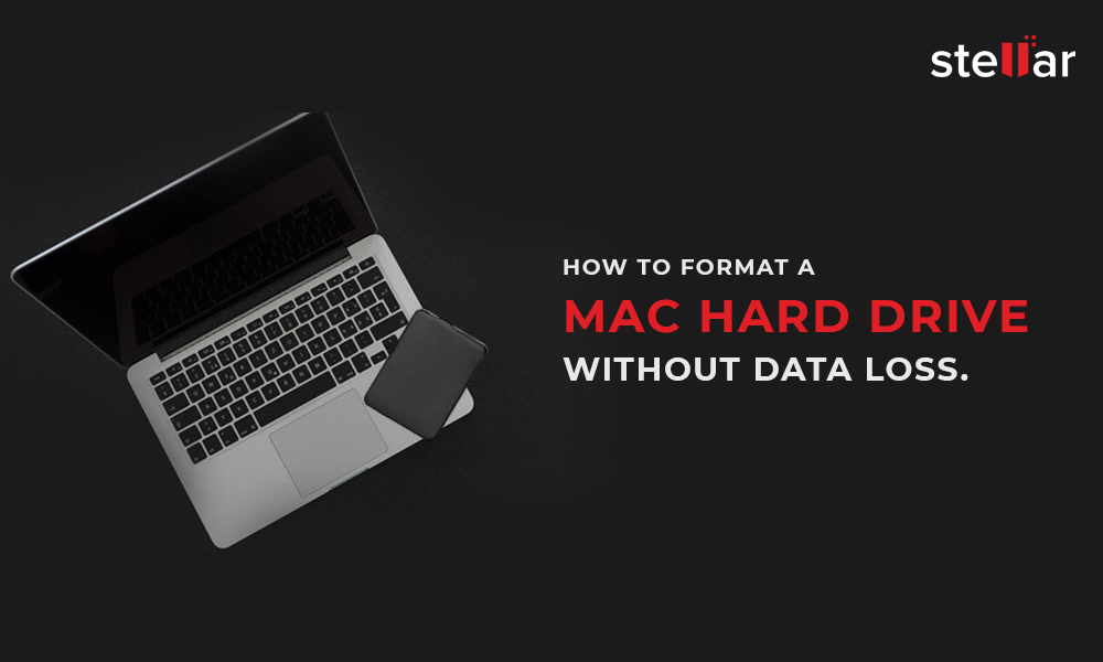 Format Mac hard drive without data loss