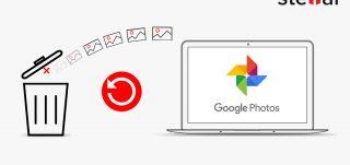 recover photos from Google Photos