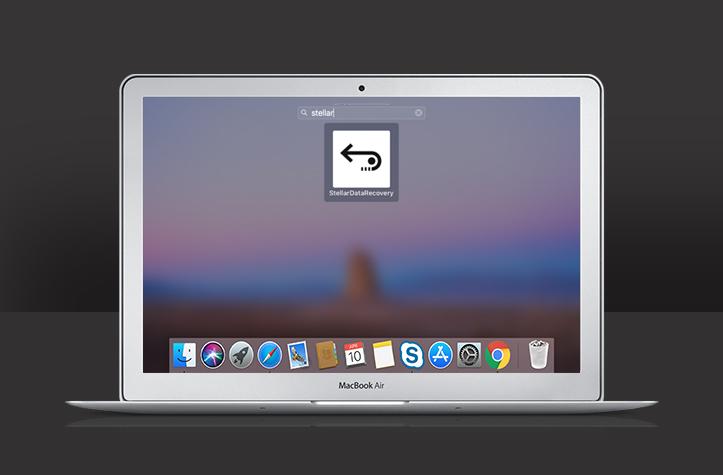 Launch Mac data recovery