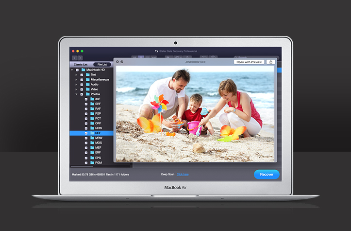 Mac formatted external drive recovery