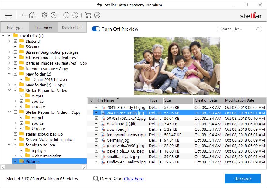 Stellar Data Recovery Premium software