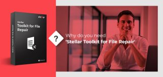 why do you need stellar toolkit for file repair