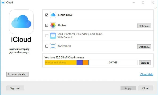 how to download all photos from icloud to windows 7 pc