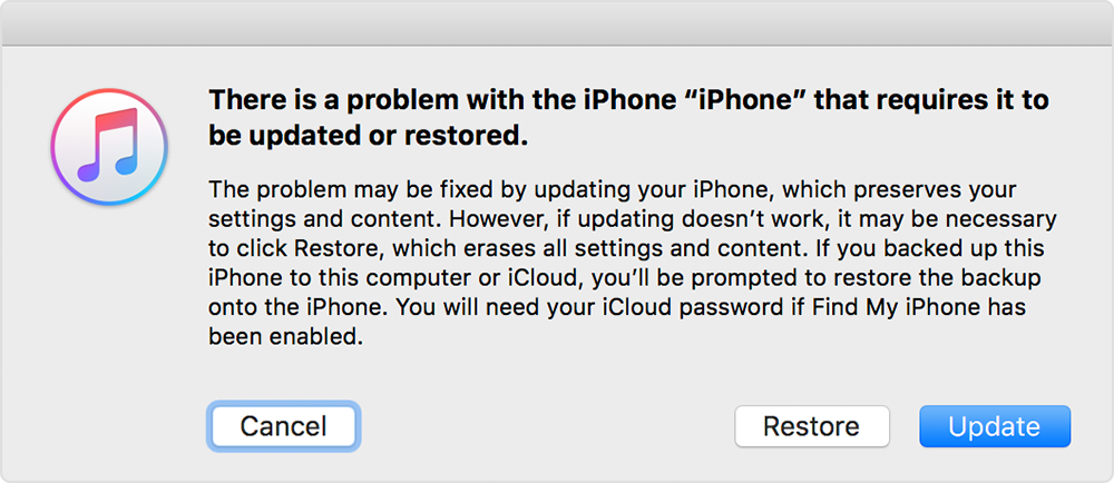 How to fix iTunes Cannot Restore Backup to iPhone - Stellar