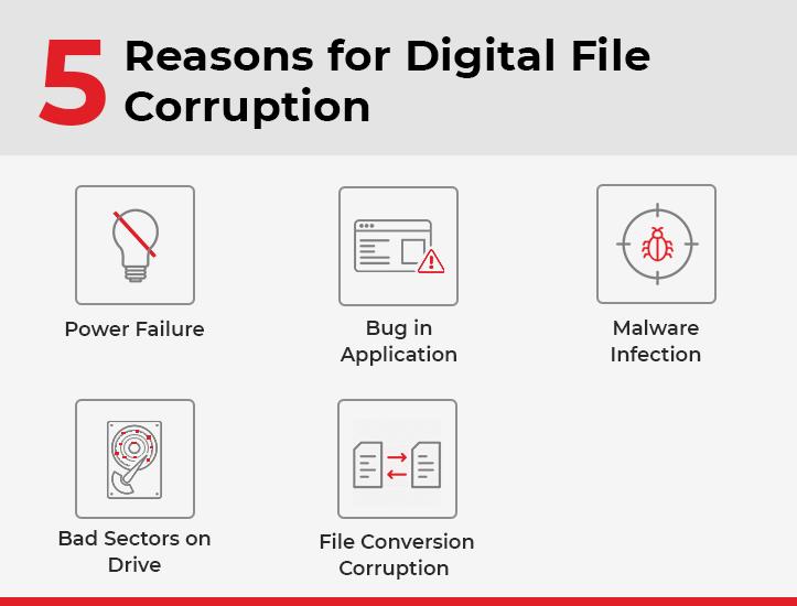 Repair Corrupt Digital Files on Mac Mojave