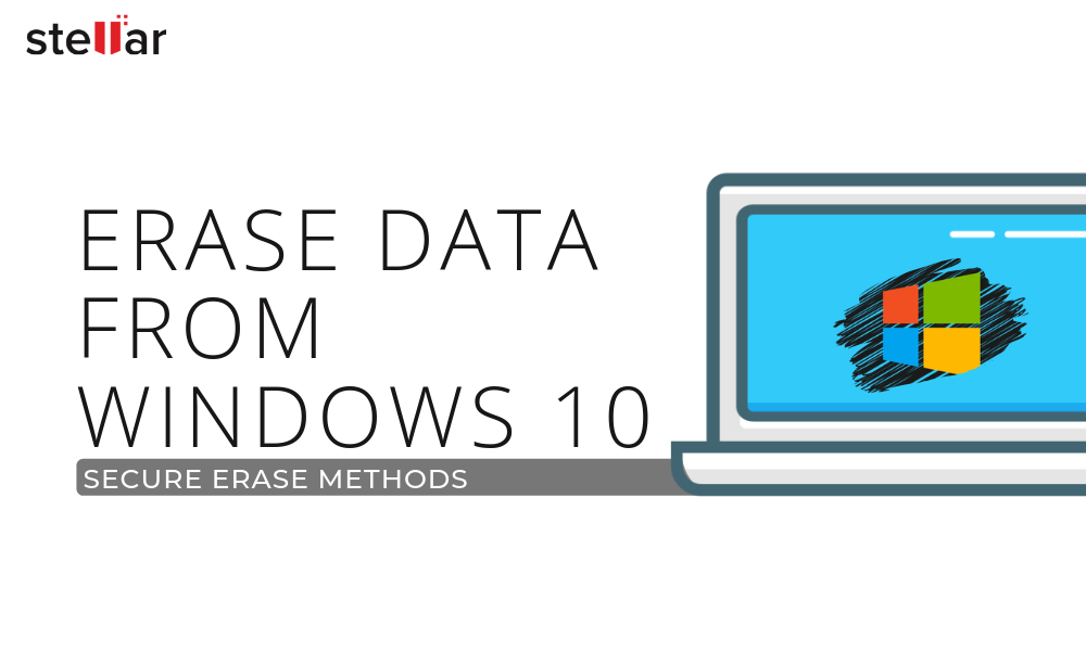 How to Erase Hard Drive Data in Windows 10?
