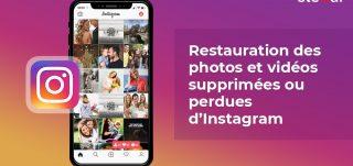 Restaurer les photos supprimées d'Instagram