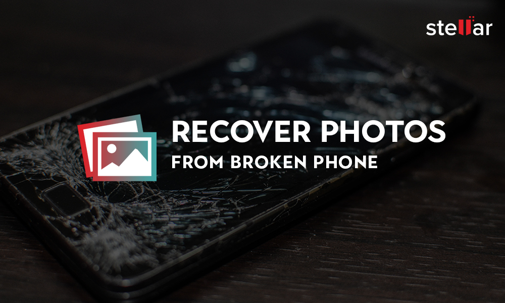 recover photos from broken phone