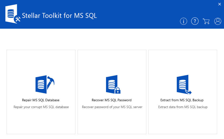 Stellar Toolkit for MS SQL