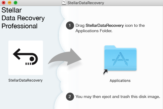 Install Mac data recovery software