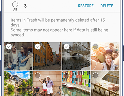 restore photos from Samsung phone
