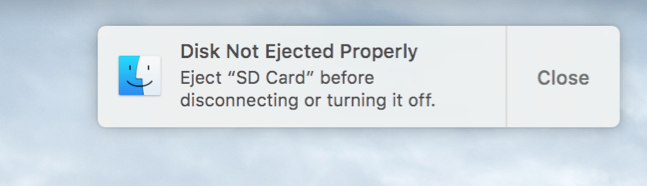 Disk-not-ejected-properly-error-message