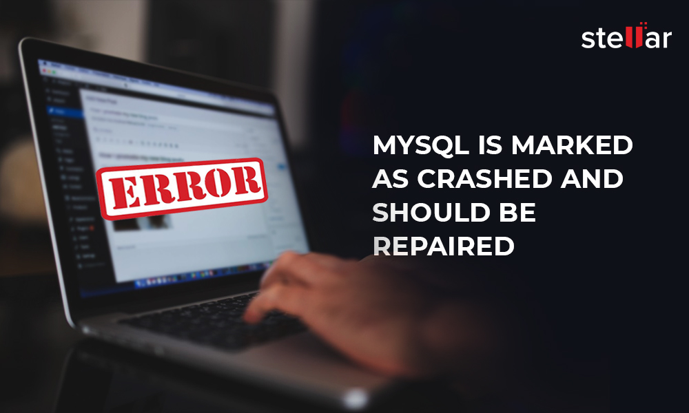 Fix] MySQL is marked as crashed and should be repaired