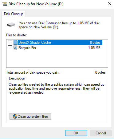 Remove junk files on your computer