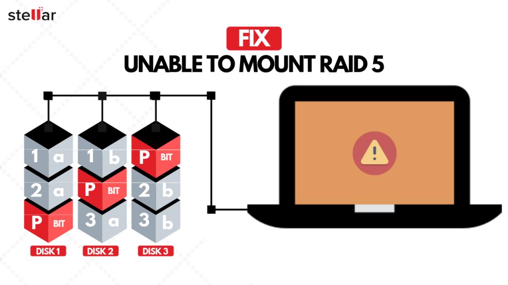 Solve-Unable to Mount RAID 5