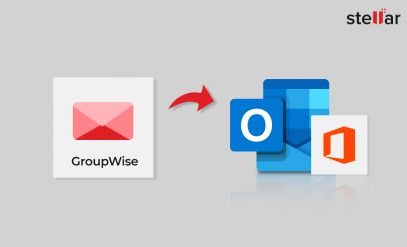 GroupWise to PST converter tool to migrate GroupWise Mailboxes to Outlook 2019 or 2016
