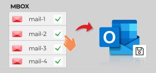How to transfer mails and contacts from AppleMail to Outlook 2019