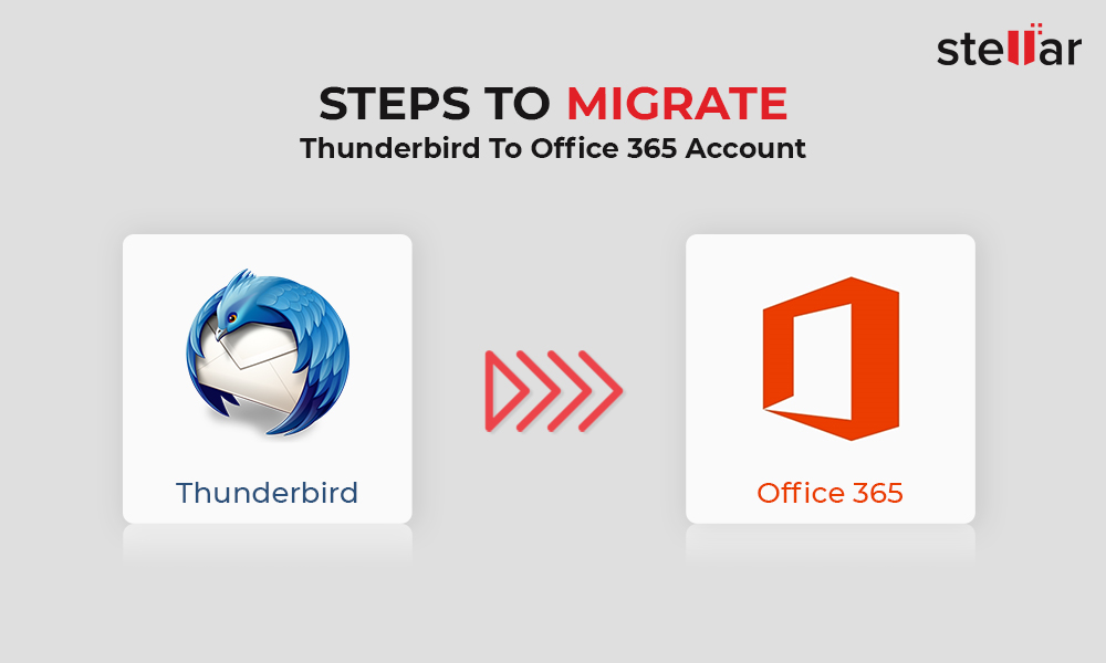 Steps to migrate Thunderbird to Office 365 account