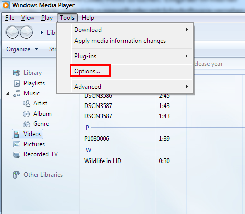 How to add codecs to Windows Media Player