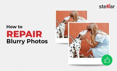 repair blurry photos